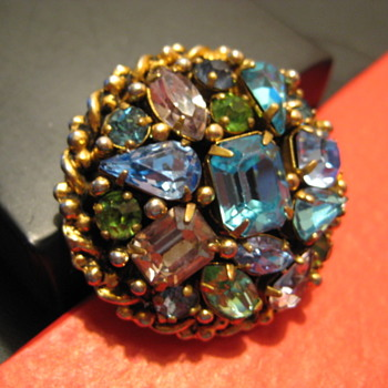 My 200th Post - BARCLAY Brooch - Costume Jewelry