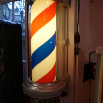 Marvy Barber Pole - Signs