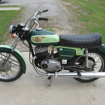 1975 CZ-Jawa model 476 125cc - Motorcycles