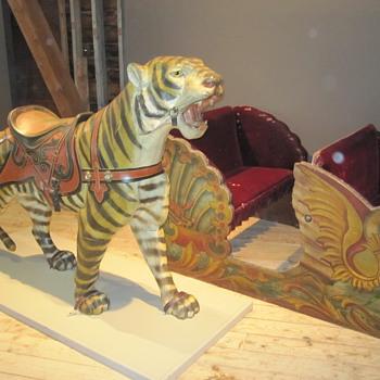 Denzel Carousel Animal Exhibit at the Shelburne Museum