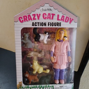 CRAZY CAT LADY - Toys