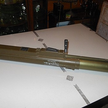 Weapons Wendesday Say Hello to My Little Friend A LAW Rocket Launcher Tube - Military and Wartime