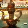 Brass tea server