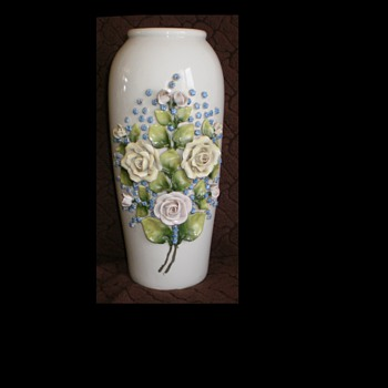 Very beautiful, decorative vase 265 mm - Pottery