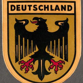Travel Decal - Deutschland