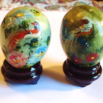 # 15140186 - Hand Painted Mini Stone Eggs w/Stand	$9.77	1	$9.77 - Asian