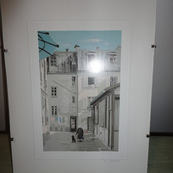 European Lithographs - Fine Art