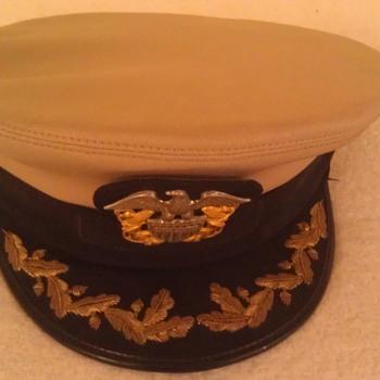 Vintage Naval Officers Hat