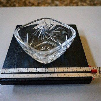 Crystal Sugar Dish? - Glassware