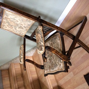 Antique folding chair - Furniture