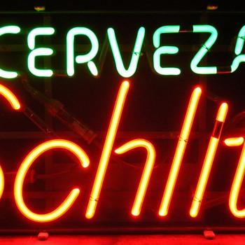 Cerveza Schlitz Neon Sign