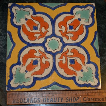Two tiles i picked up today - cheap! - Pottery