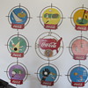 Kay Display Sports Signs Coca Cola All Nine Complete