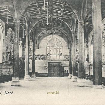 GUILDHALL, YORK. C.1900 - Postcards