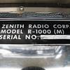 Zenith R-1000 (M) Military transoceanic