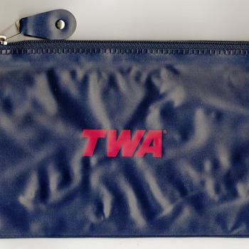 TWA Airlines Travel Bag - Advertising