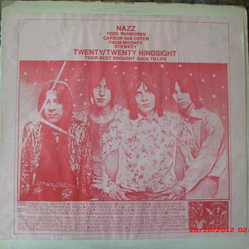 Nazz Twenty/Twenty Hindsight Bootleg on The Amazing Kornyphone Label