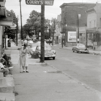Market St., Kingston, PA mid 1950s - Photographs
