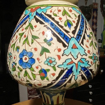 HELP!!  What is this piece?  Iznik late?  Iznik Early? Early Palestinian? - Asian
