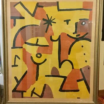 Klee print? - Fine Art