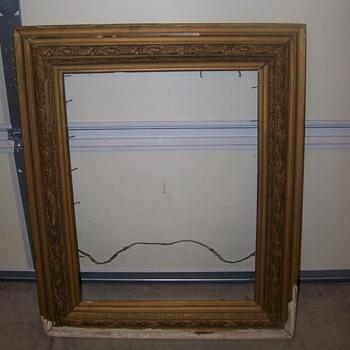 Barn Picture Frame worth Restoring ????? - Fine Art