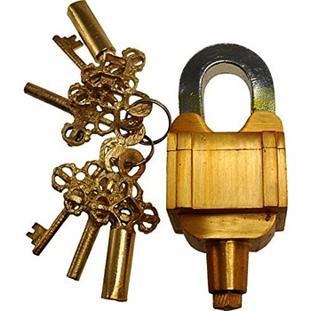 Functional Brass Beautiful Padlocks - Tools and Hardware