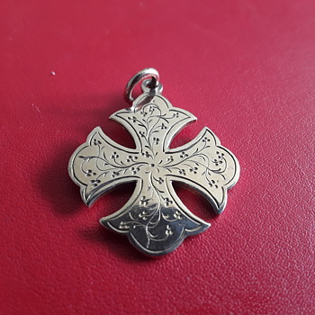 Maltese  Cross ?? - Costume Jewelry