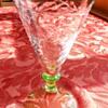 Gerard Muller? uranium footed wine glass