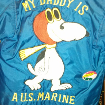 My Husband's Marine Corps Coat - Mens Clothing