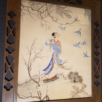 Asian  Painting - Mystery - Asian