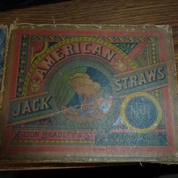 Jack Straws Milton Bradley No. 1.. Is it rare ?