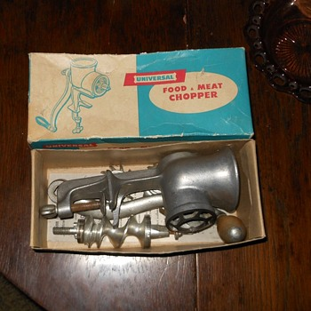 Universal No. 1 Food & Meat Chopper - Kitchen