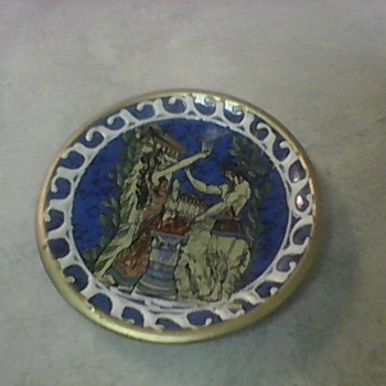 GREEK PLATE - Pottery