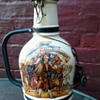 German 200cl  Hand painted beer bottle