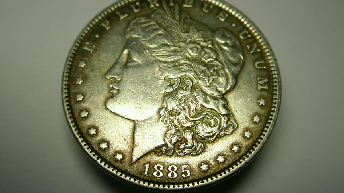 1885 morgan dollar no mint mark | Collectors Weekly