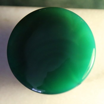 Very Large Green Bead