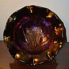 Fenton Butterfly & Tulip Bowl