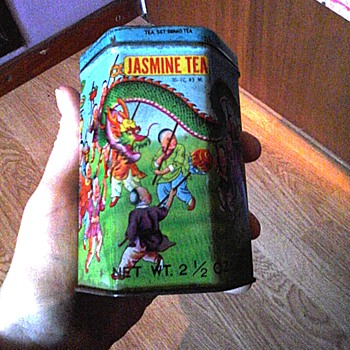 Jasmine tea - Advertising