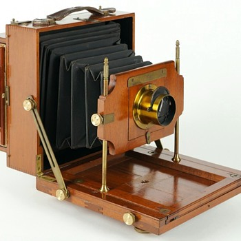Scovill & Adams Compact View Camera, c.1892 - Cameras