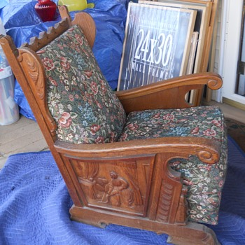 Rare Handcarved Bishop Chairs Please Help