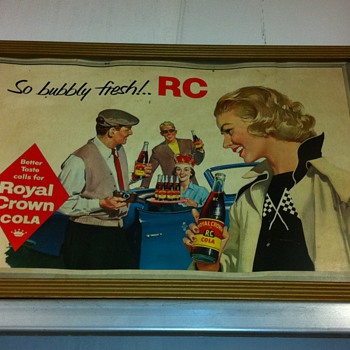 RC cola poster ,more shots of shop - Signs