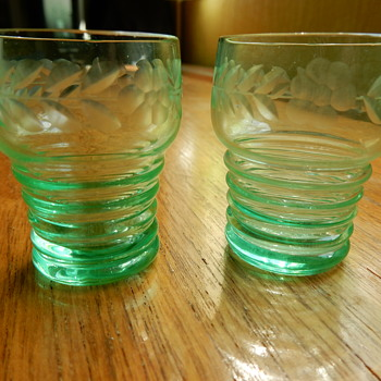 Imperial No. 451 Shot Glasses. - Glassware