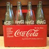1960s or 1970s coca cola 16 oz bottle carrier