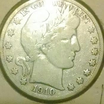 1910-s batber half dollar . VF - US Coins