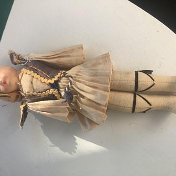 Danish cloth and hard plastic doll - Dolls