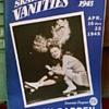 1945 Skating Vanities Program WWII Ad Bulova