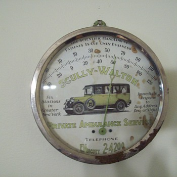 Scully-Walton Private Ambulance Service Thermometer
