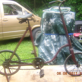 old childs Bicycle with hard rubber tires