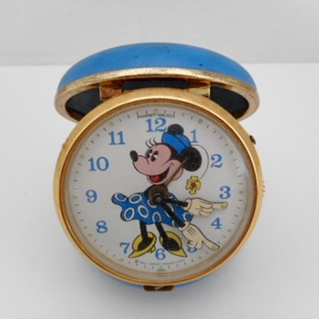 Minnie Mouse Travel Alarm - Advertising