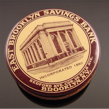 Brooklyn Savings Bank c.1917  - Coin Operated
